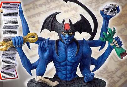 デビルマン神像シリーズ・悪魔十八転生 第一弾 デビルマン・鬼獣外法界