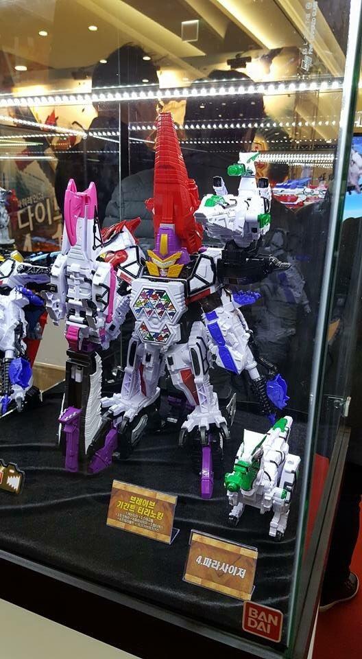 獣電戦隊キョウリュウジャー韓国で展開決定リデコ玩具展開もあり