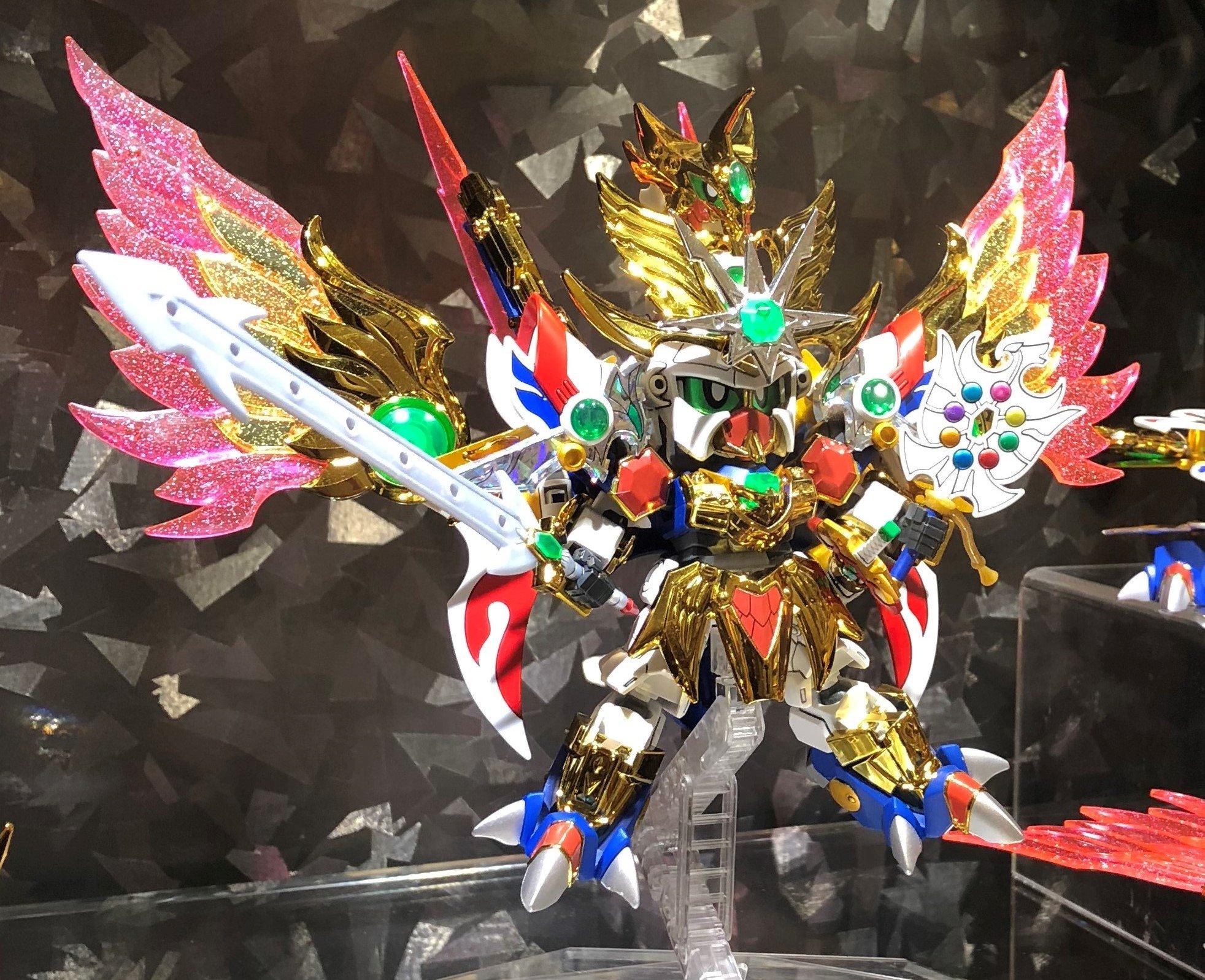 【ガンプラ】LEGEND BB「飛駆鳥大将軍」試作公開、近日予約開始【価格4,860円】